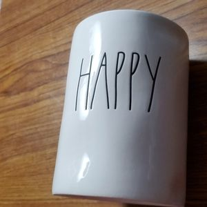 "💥HP💥Rae Dunn Candle ""HAPPY"" Scented-Citrus Ber…"